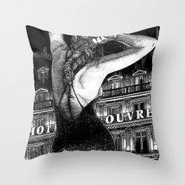 asc 686 - Le signal codé (Our cipher) Throw Pillow