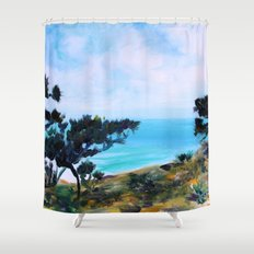 Fine, Fine Torrey Pine Shower Curtain