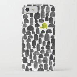 Turtle in Stone Garden iPhone Case