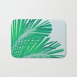 Palm leaf Bath Mat