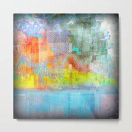 Broken Abstract Metal Print