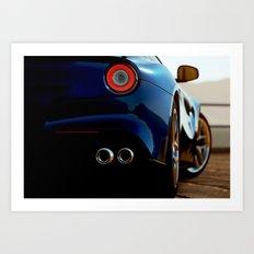 F12 Close Up Art Print