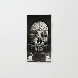 Room Skull B&W Hand & Bath Towel