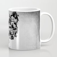 jack skellington Mugs featuring Jack Skellington by bimorecreative