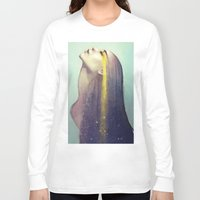 constellation Long Sleeve T-shirts featuring Constellation by Anna Dittmann