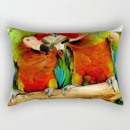 Parrot Love Rectangular Pillow