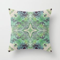 Abstract Texture Throw Pillow