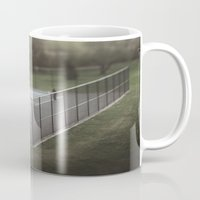 tennis Mugs featuring Tennis by James Lyle