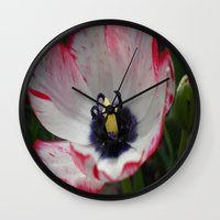 tulip Wall Clocks featuring Tulip by Vitta