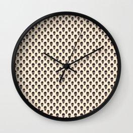 Florish Skull Wall Clock