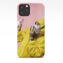 Spray and Stay Away iPhone Case