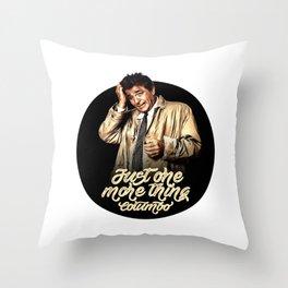 Columbo - TV Shows Throw Pillow