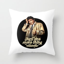 Columbo - TV Shows Throw Pillow