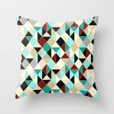 Harlequin tile Throw Pillow