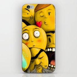 Whatsapp Emoticons iPhone Skin