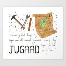 Jugaad Art Print