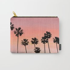 Blushing Palms Carry-All Pouch