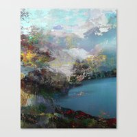 tchmo Canvas Prints featuring Untitled 20120315e (Landscape) by tchmo