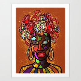Beautiful Gems Art Print