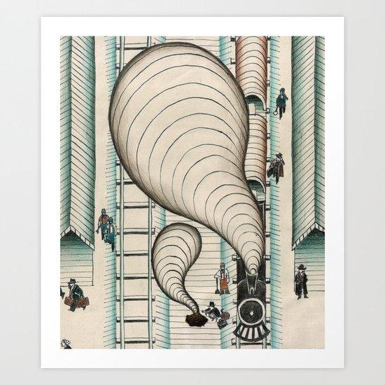 Jack London #3 Art Print