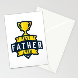 Best Father Ever Stationery Cards