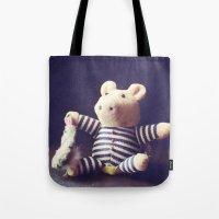 hug Tote Bags featuring Hug by Sybille Sterk