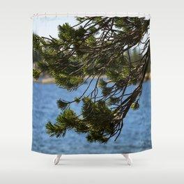 Lake Vibes Shower Curtain