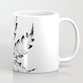 Black & White (Cannabis Resin Leaf) Coffee Mug