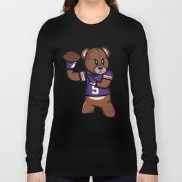 The Victrs - Teddy Football Long Sleeve T-shirt