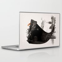 last of us Laptop & iPad Skins featuring The Last of Us by Robert Farkas