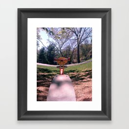 Teeter Framed Art Print