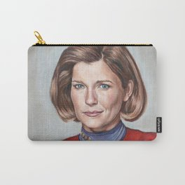 Captain Janeway - Portrait Painting Carry-All Pouch