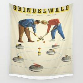 Vintage poster - Grindelwald Wall Tapestry