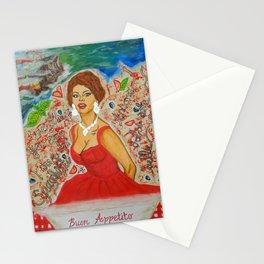 Ain't She A Dish, Sophia Loren! Stationery Cards