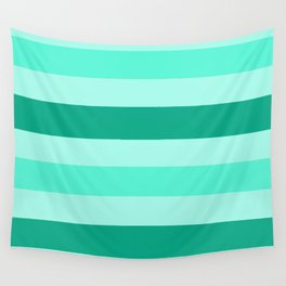 Winter Mint Candy - Color Therapy Wall Tapestry