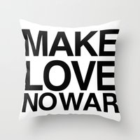 helvetica Throw Pillows featuring helvetica by Cheese Alien