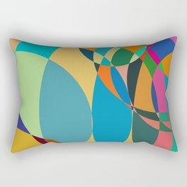 circle parts Rectangular Pillow