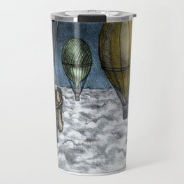 PERIL ABOVE THE CLOUDS! Travel Mug