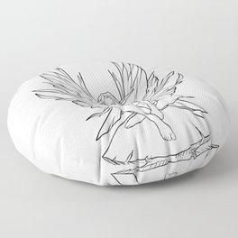 Fairy Morgana Floor Pillow
