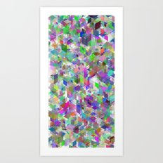 Panelscape - #1 society6 custom generation Art Print