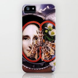 Milk, Honey and Time   Collage iPhone Case