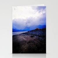 homer Stationery Cards featuring Homer Spit  by Julia Blanchette