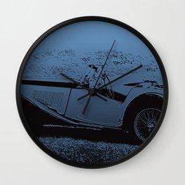 Classic Vintage Car MG Wall Clock