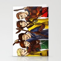quidditch Stationery Cards featuring Quidditch by Plebnut