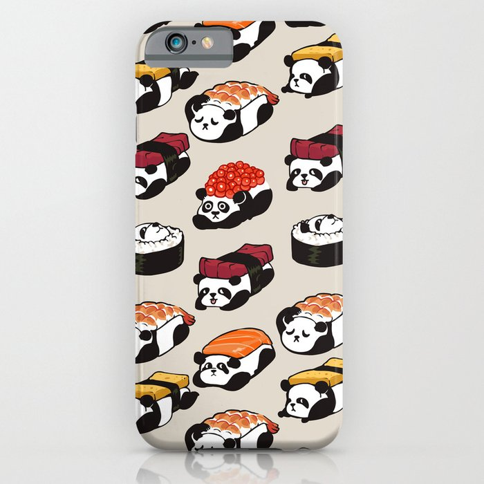 sushi panda iphone case