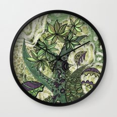 jungle 2 Wall Clock