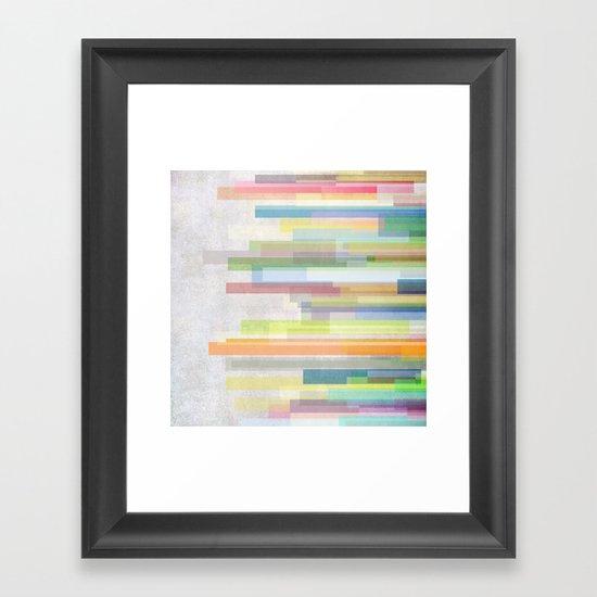 Graphic 14 Framed Art Print