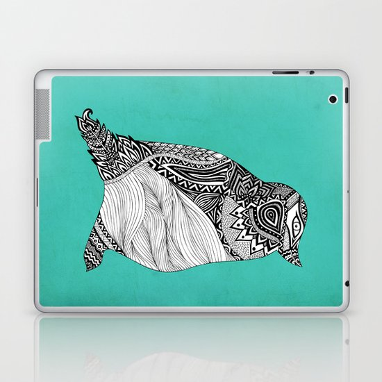 Tribal Penguin Laptop & iPad Skin