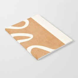 abstract minimal 31 Notebook