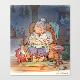 Mamie Dragon - Healing Canvas Print